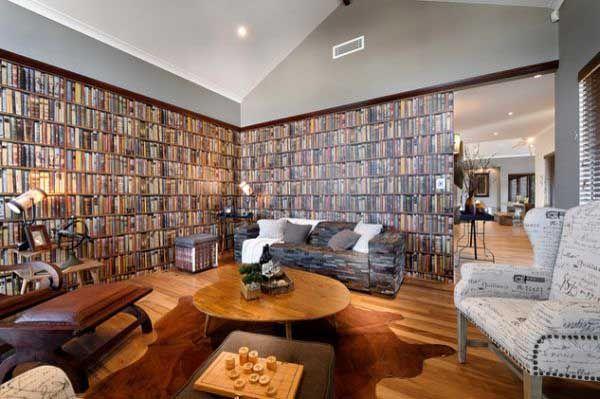 Wallpaper That Looks Like Books Best Interior Design
