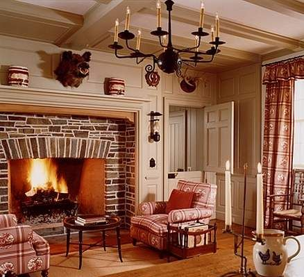 stone fireplace design Barn House Ideas Pinterest Stone