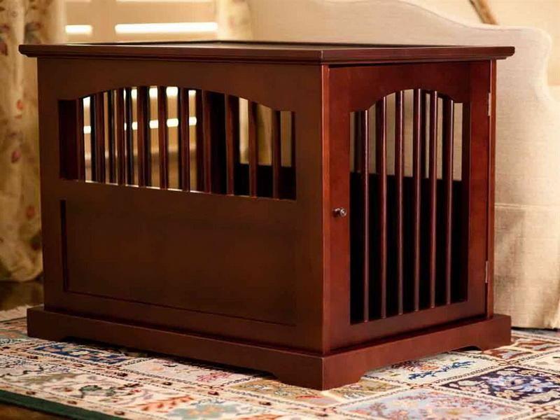 Gentil End Table Dog Crate Large U2014 New Furniture Designs