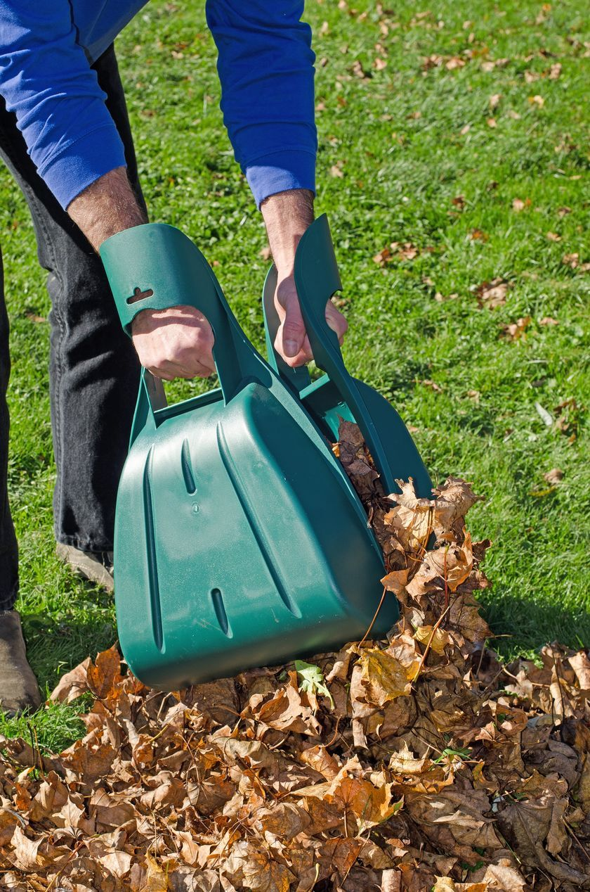 Giant Hands Leaf Collector | Gardeners.com. Gather Raked Leaves In Half The  Time