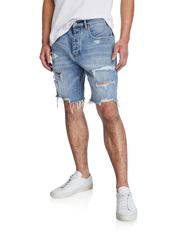 حائط الاقتصادية التخصيب Men's Shorts Denim - comertinsaat.com