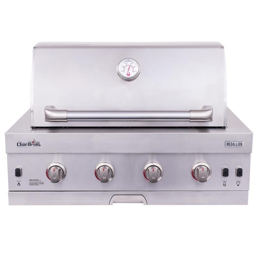 Char Broil Medallion 4 Burner Built In Gas Grill Outdoor Kitchen Design Outdoor Kitchen Modular Outdoor Kitchens