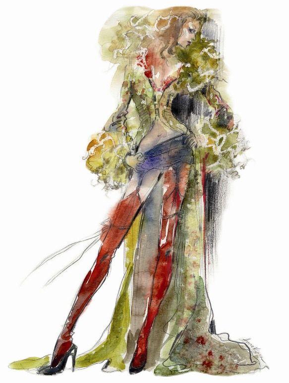illustrators | Create Fabulous Fashion Illustrations with Top Designer Anna Kiper