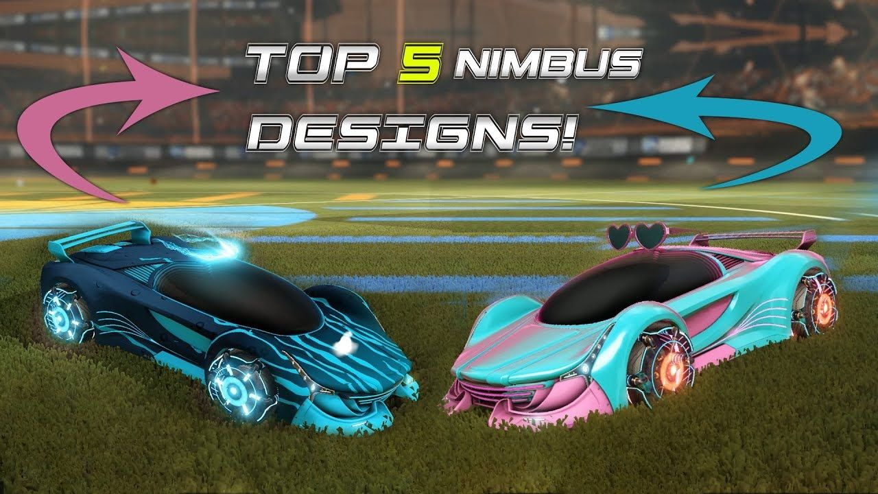 Top 5 Cool Painted Nimbus Designs In Rocket League With