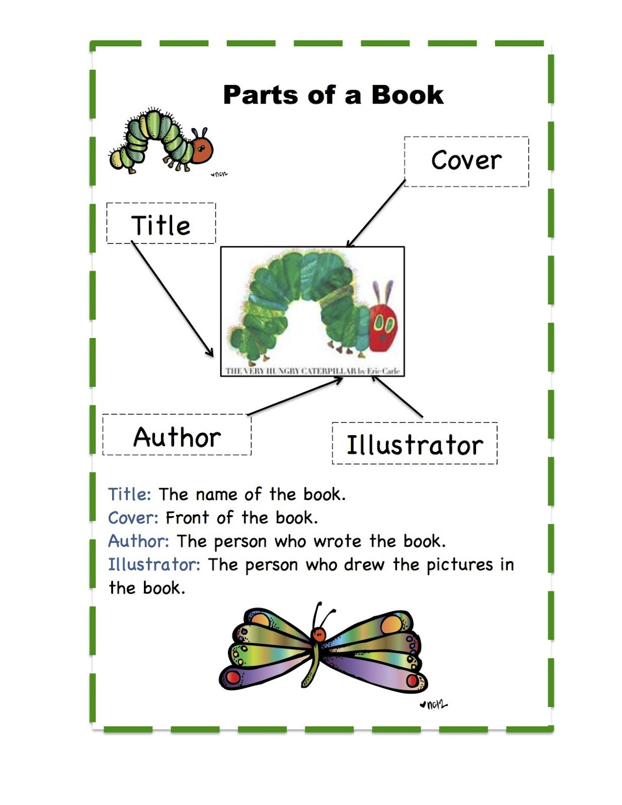 Hungry Caterpillar Book Printable