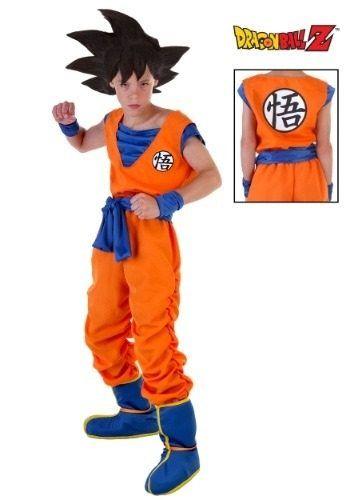Disfraz Goku Halloween Traje Niño 1 549 00 Disfraz De Goku Disfraces De Halloween Niños Disfraz Dragon