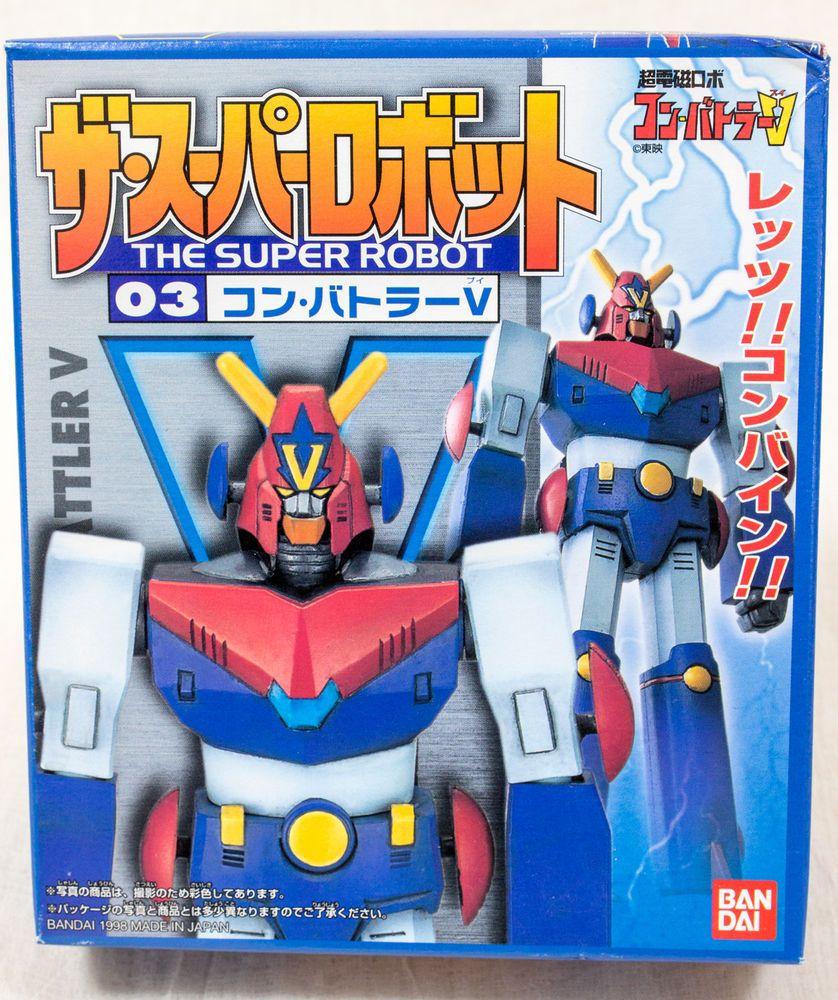 Combattler V Super Robot Plastic Model Kit Figure Bandai