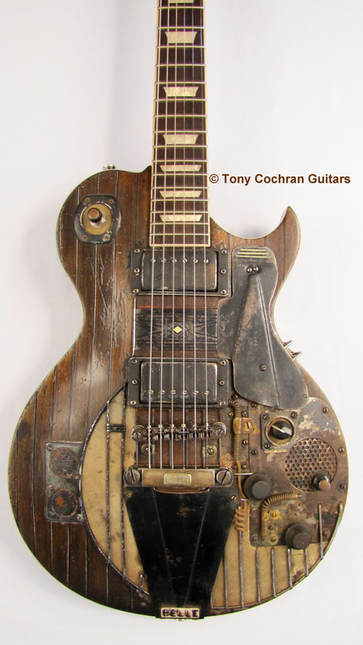 Tony Cochran Guitars for sale - Tony Cochran Custom Electric Guitars - Guitars are beautiful on their own. But this one rocks. #electricguitars