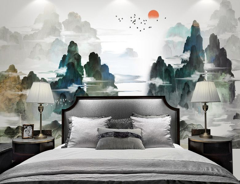 Decoration D Interieur Style Japonais Sticker Mural Xxl