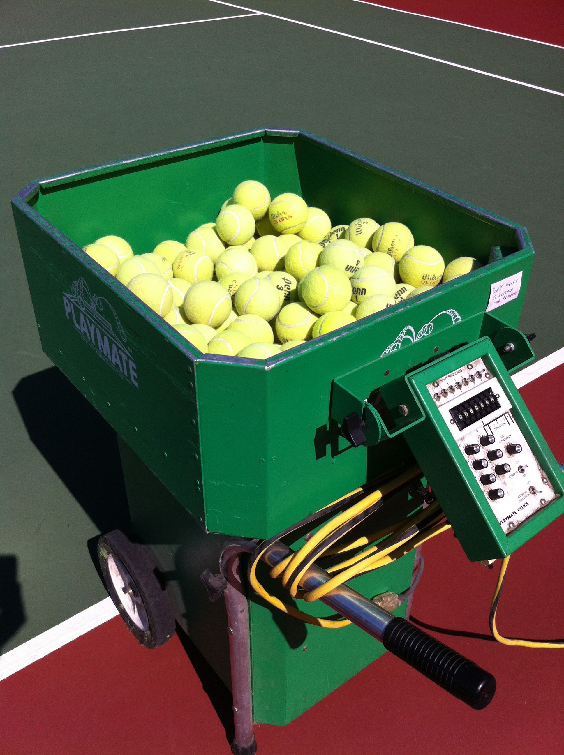 Choosing The Perfect Tennis Ball Machine In 2020 With Images