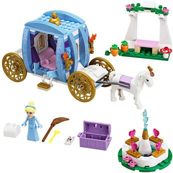 Lego Disney 41055 Cinderella/'s Romantic Castle /& 41053 Dream Carriage NEW SEALED
