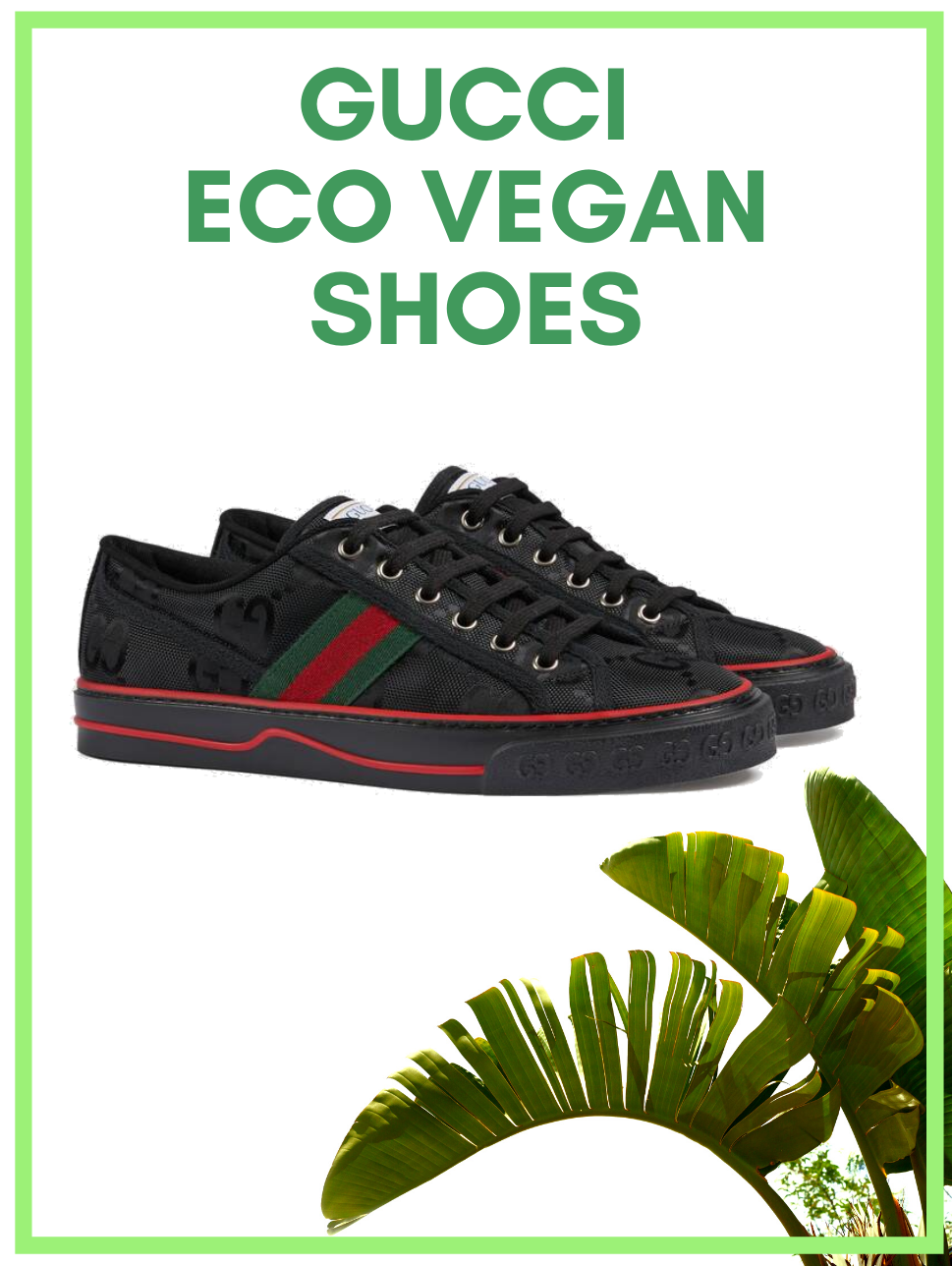 Gucci Vegan Eco-friendly Shoes in 2020