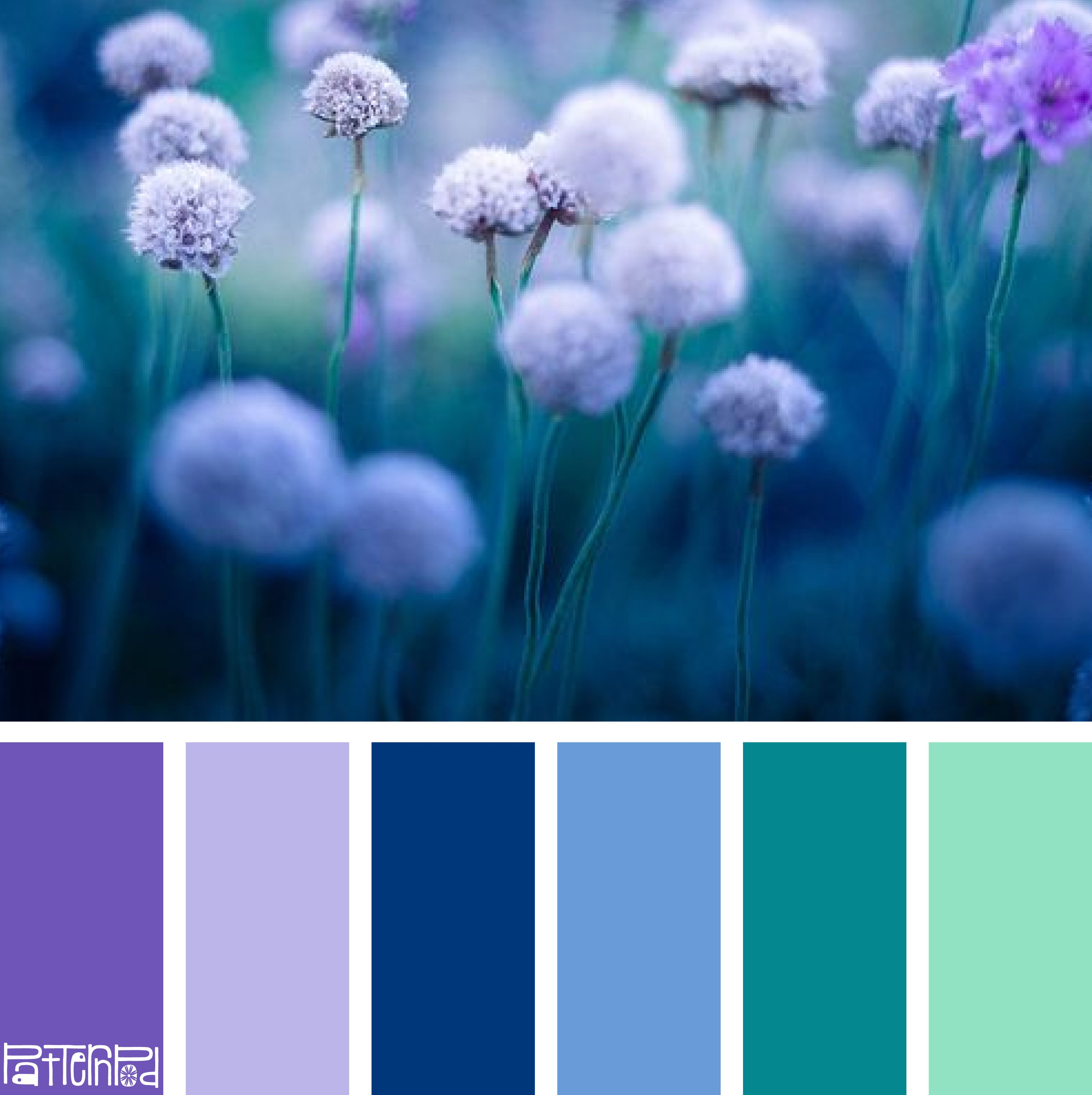 Moody Meadow #patternpod #patternpodcolor #color #colorpalettes ...