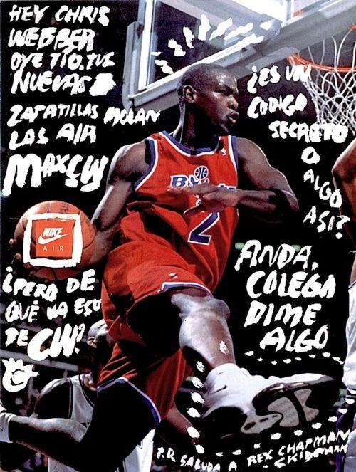 Nike Retro Vintage Chris Webber