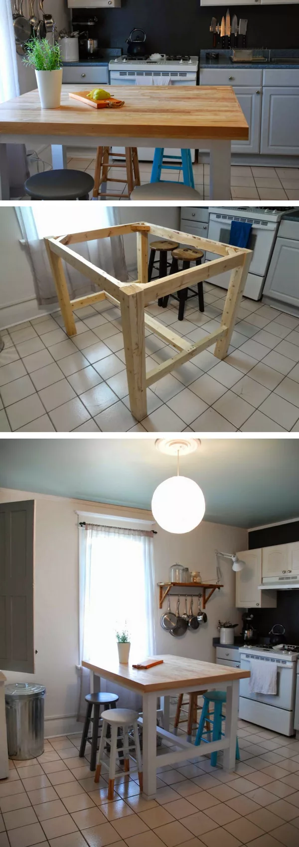 diy kitchen island 25 easy to make and affordable ideas diy kitchen island diy kitchen on kitchen island ideas diy id=14230
