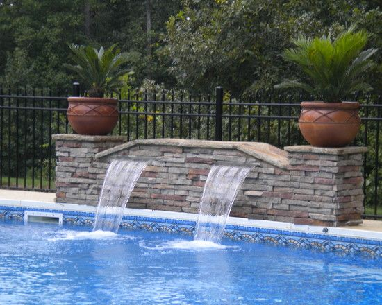 Pool Fountain Design Pictures Remodel Decor And Ideas Page 11