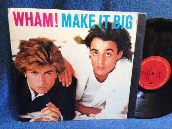 Vintage Wham Make It Big Vinyl Lp Record Album By Sweetleafvinyl Vinyl Record Album Record Album Vinyl Records