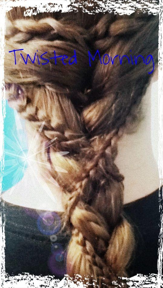 Hair this morning!!