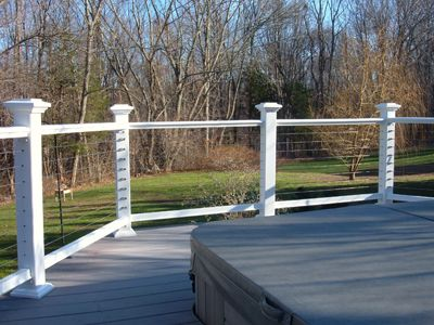 Stainless Steel Deck Railing   Cable Deck Railing
