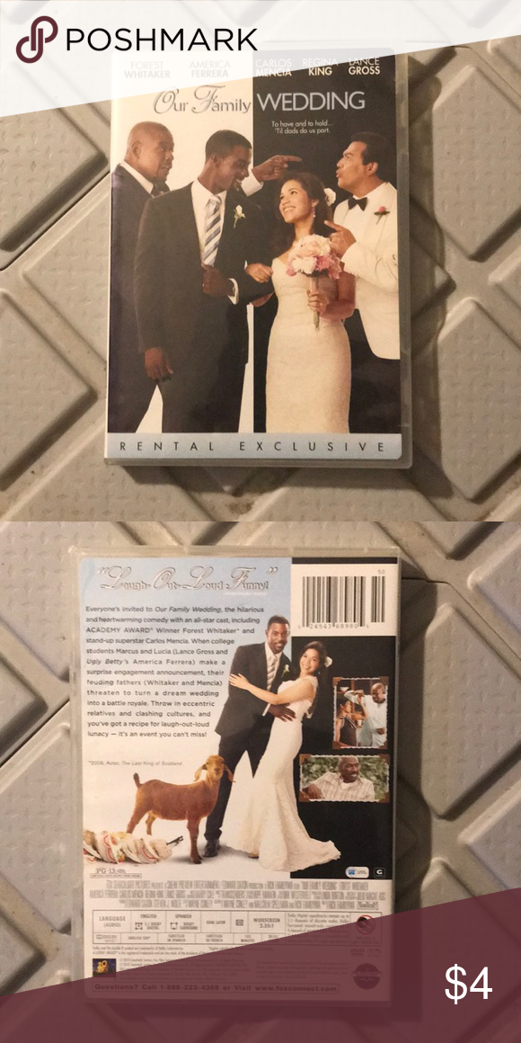 Our Family Wedding Dvd Condition Very Good Seller Notes This Product Has Passed Our Meticulous Quality Checks And Is Family Wedding Wedding Dvd Wedding Rentals