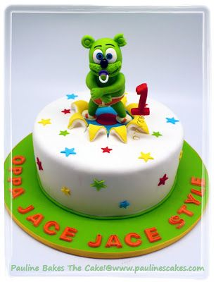 Gummy Bear Song Cake With Images Gummy Bear Cakes Cake Gummy