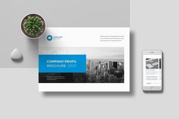 Company Profile Landscape by Pro-Gh Design Resources Pinterest