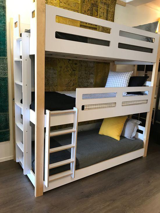 Best Devon 3 Tier Triple Sleeper Bunks Bunk Bed Rooms 640 x 480
