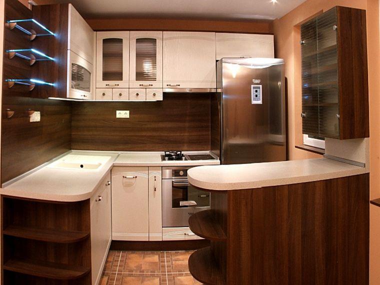 decoracion de cocinas y salpicaderos de madera Interiores para