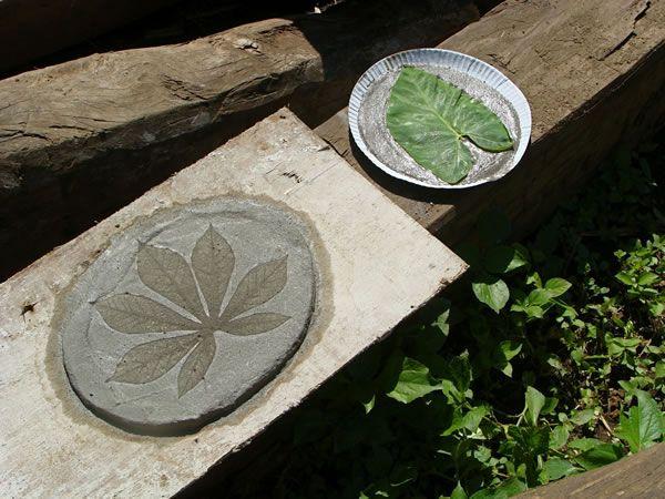Macetas y adoquines de hormigón Papercrete, Ideas para and Fabrics - bao de piedra