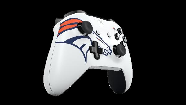 Xbox Design Lab Denver Broncos Wireless Controller Custom Xbox Custom Xbox One Controller Xbox One Controller