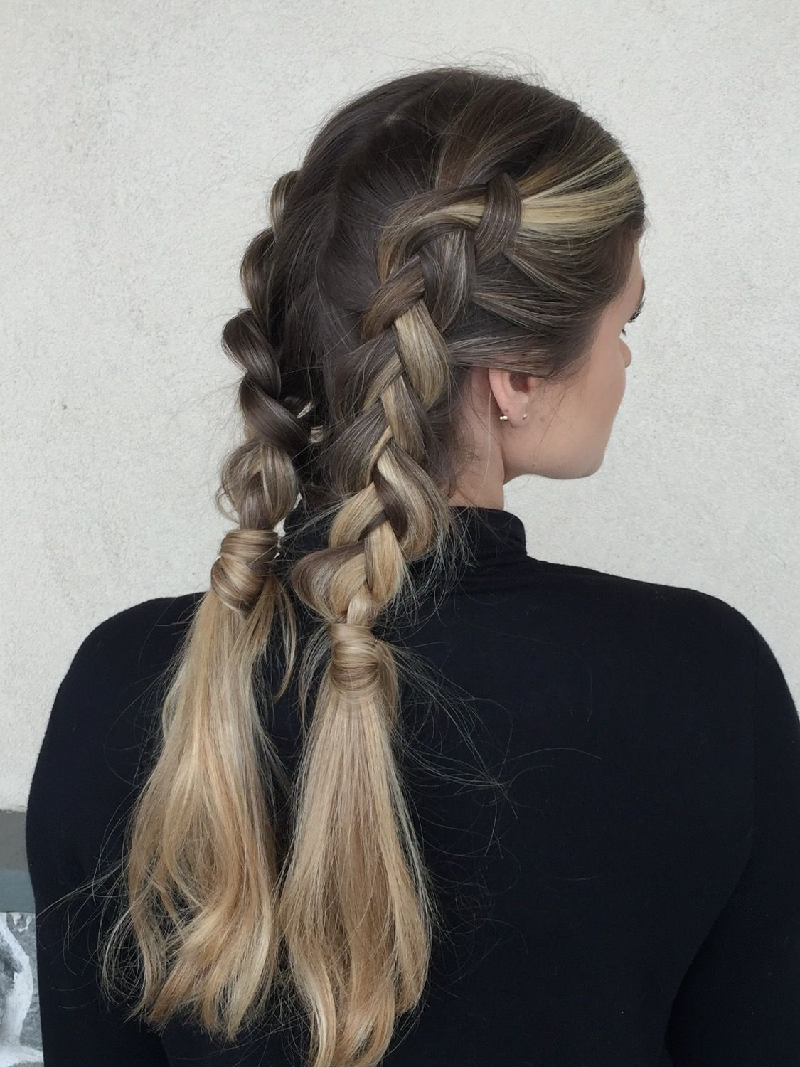 A Cardio Ready Braid The Real Secret To A Successful Workout Session Is Having A Hairstyle That Won T Quit Halfway Through Your Wor Hair Styles Braids Beauty