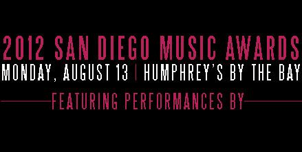 The Lovebirds nominated for Best Local Recording at 2012 SD Music Awards!