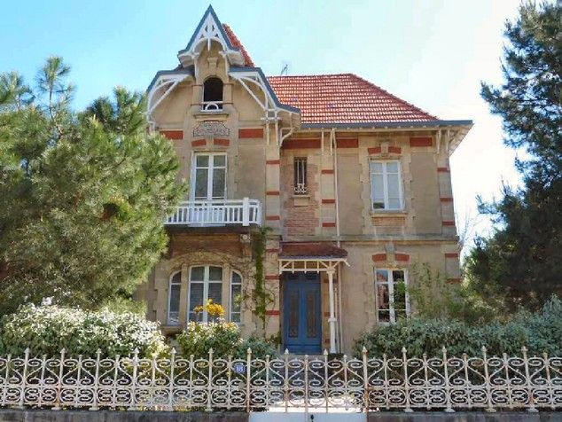Villa Arcachonnaise Du Debut Du Xxe Siecle Repertoriee Situation