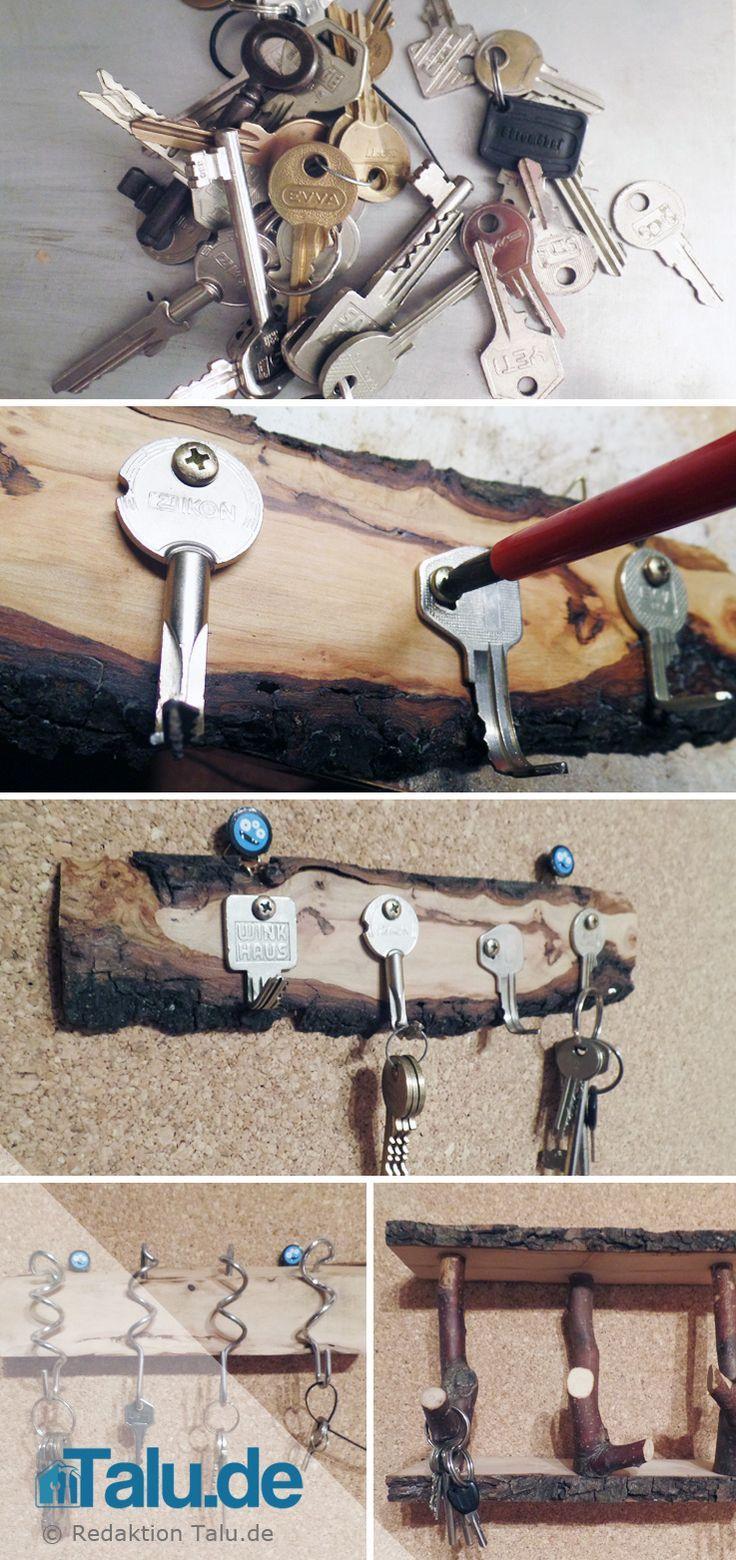 Photo of Schlüsselbrett aus Holz selber machen, #aus #GartenGestaltungsel