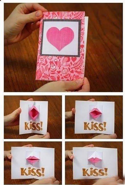Popular DIY Crafts Blog How To Make Paper Kissing Lips