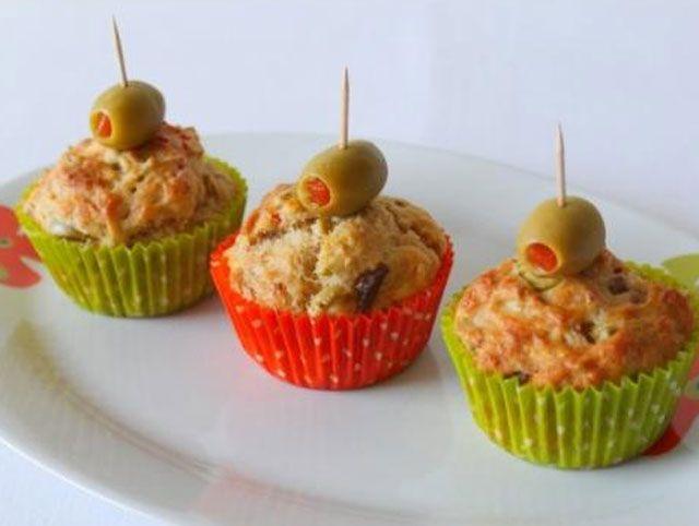 Muffins Légers au Thon et Olives Vertes WW - Plat et Recette