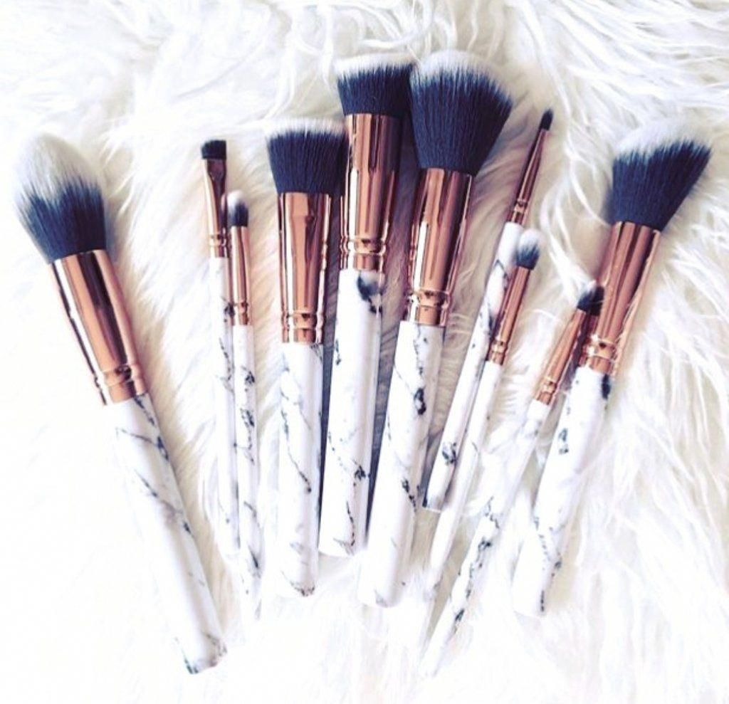 Pin by Erica Chang on MAKE UP! Makeup brush set, Makeup