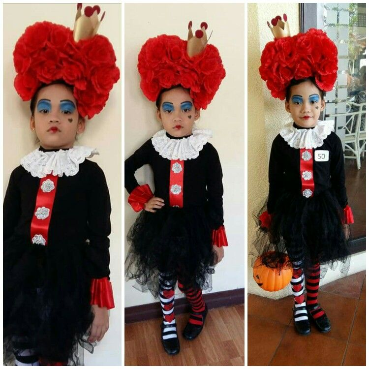 I Dressed Up My Niece Ara As The Red Queen Fortunately She One Won