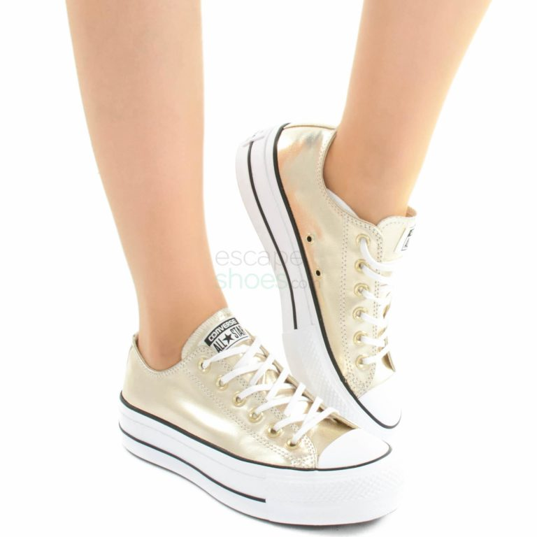 Sneakers CONVERSE Chuck Taylor All Star Lift Clean 560249C Gold