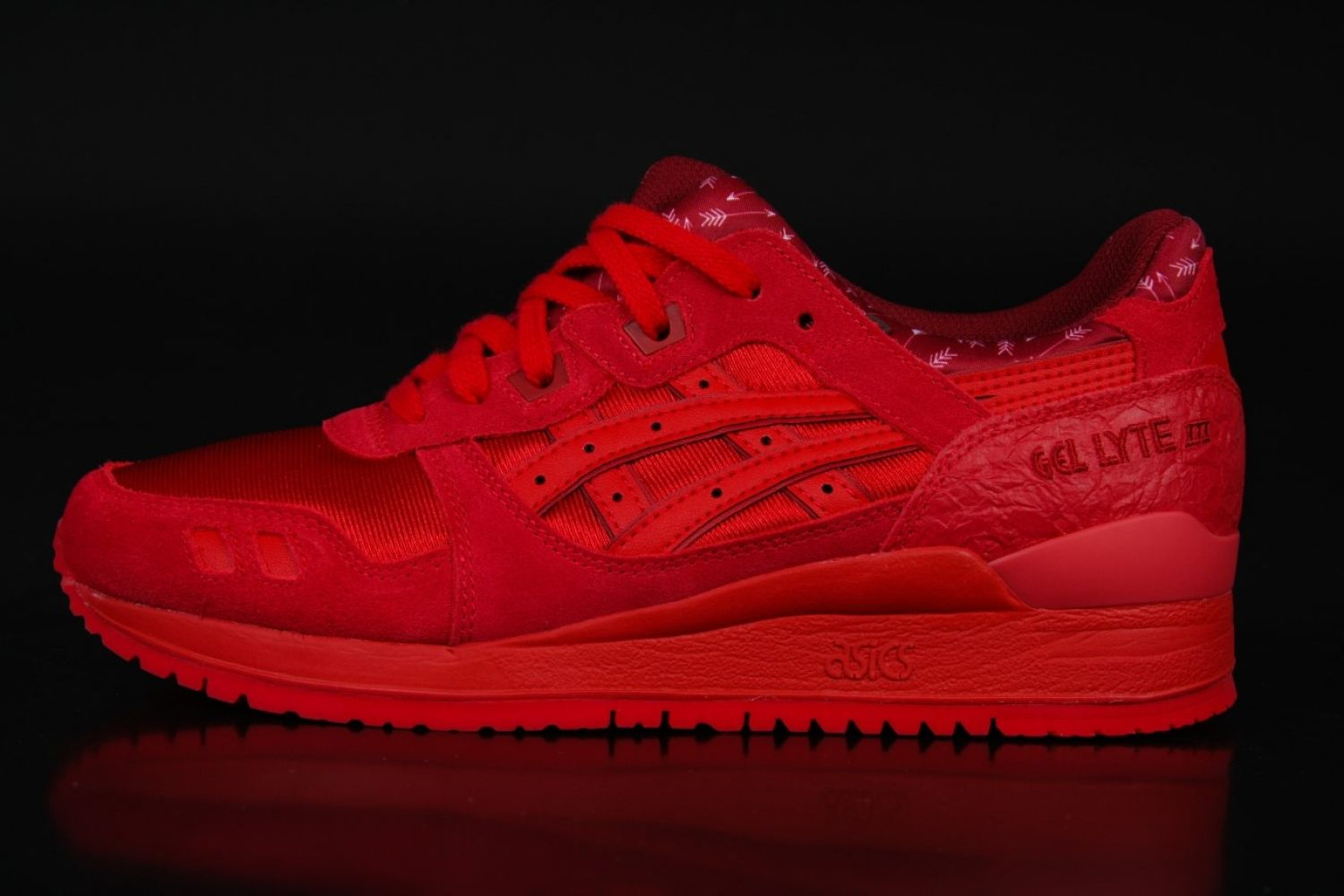 Asics - Asics Gel-Lyte III Cupid Valentines Pack All Red Sneakers H63QQ  2323 -