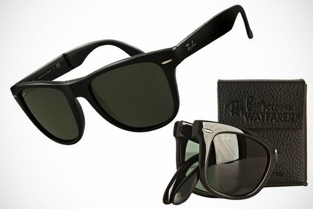 ray ban mens folding wayfarer square sunglasses  ray ban folding wayfarer sunglasses bonjourlife