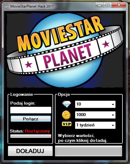 Hack Do Moviestarplanet - Kody do Moviestarplanet na VIP