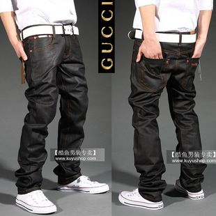 d01369aa63e GUCCI Jeans Men Simple Cool Jeans Gucci