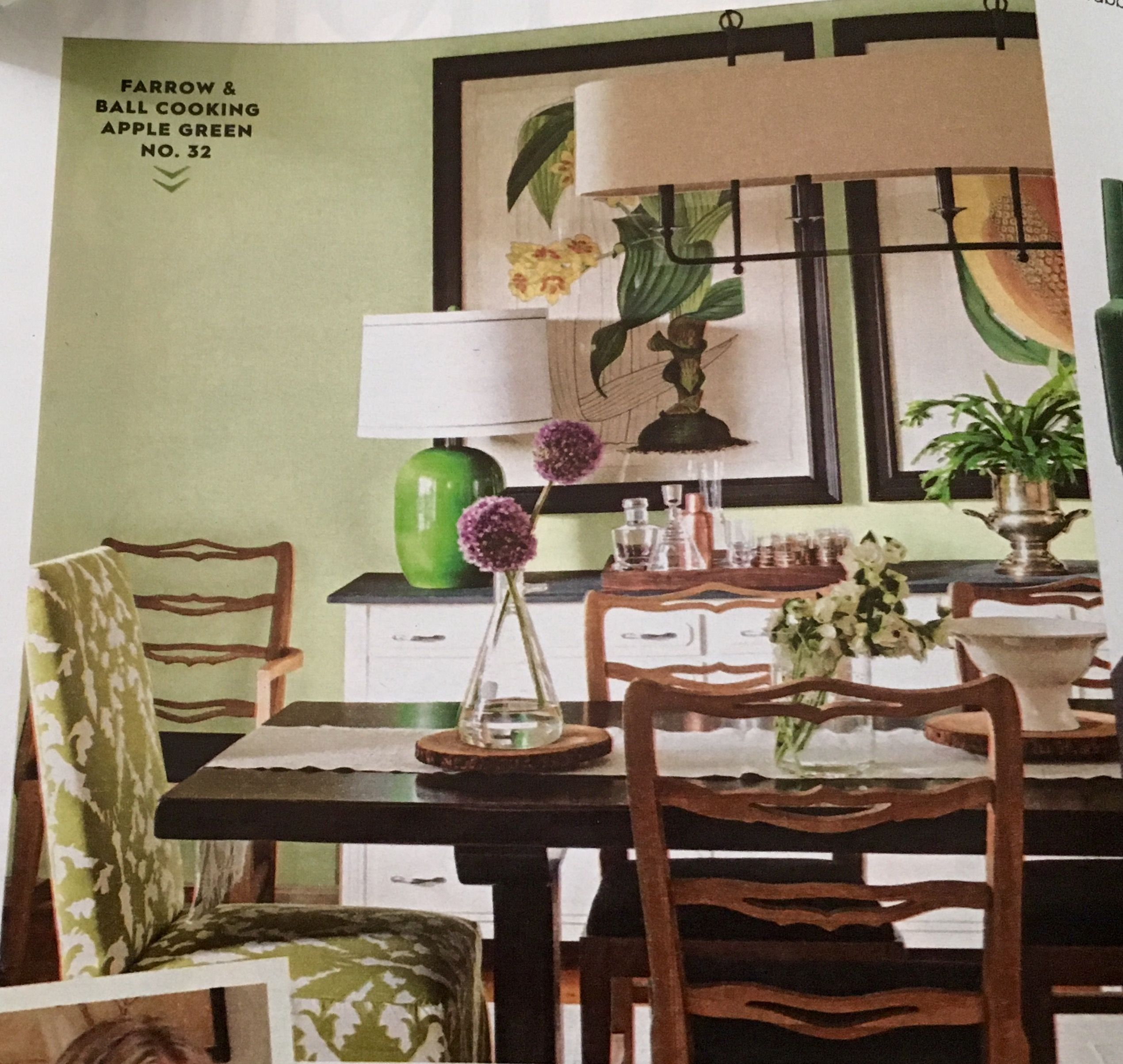 Love this calming color palette! | Dining nook, Green ...