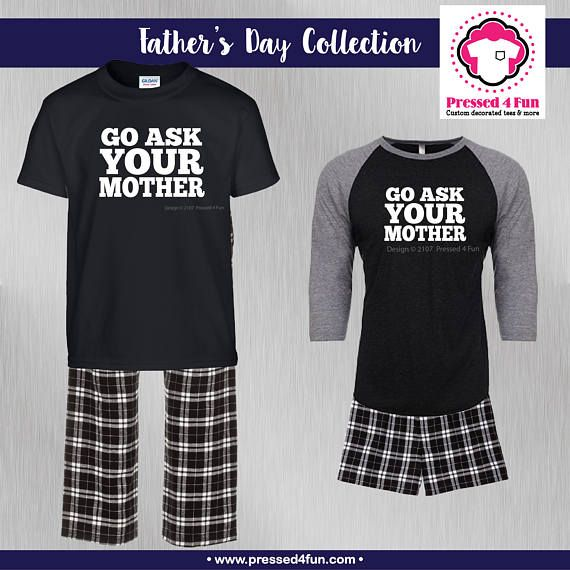 e67acecd Fathers Day Pajamas | Pressed 4 Fun | Etsy Site | Father's Day Gift · Heat  Transfer VinylHeat ...