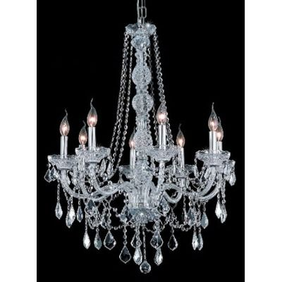 Elegant lighting verona 8 light chandelier wayfair