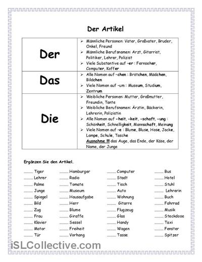 der die das n m ina gramatika pinterest duits leren deutsch en ergotherapie. Black Bedroom Furniture Sets. Home Design Ideas