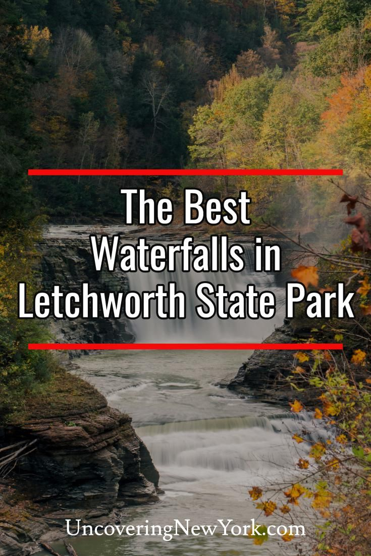 NY Waterfalls: How to See Letchworth State Park's Waterfalls - Uncovering New York #letchworthstatepark