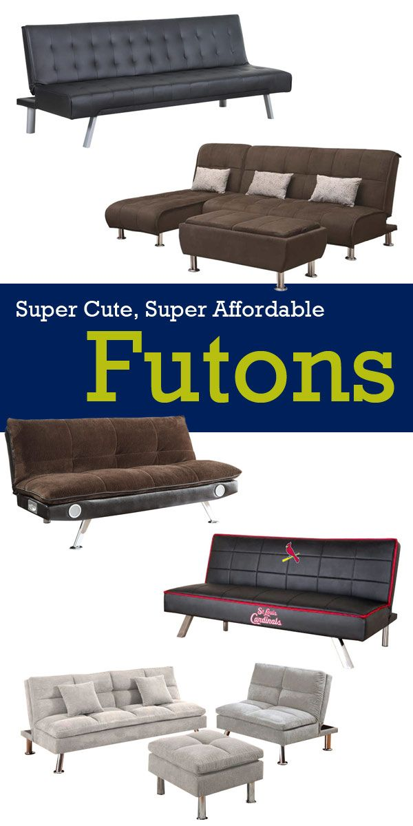Just In Time To Move Into Your Dorm Room Super Cute Affordable Futons