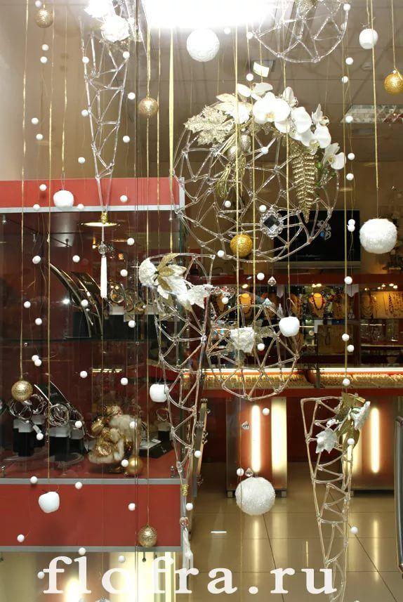 дизайнерское оформление торгового зала на новый год: 10 ...